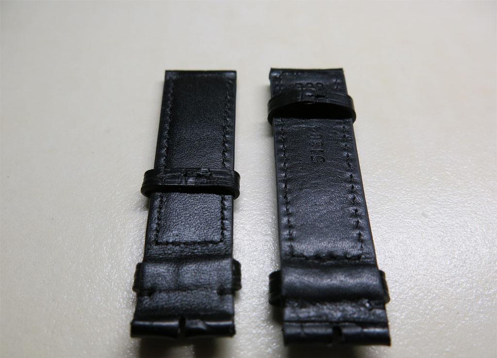 如何快速分辨出鳄鱼皮表带跟小牛皮表带