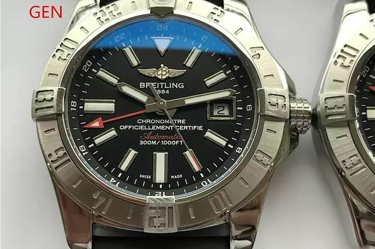 GF厂复仇者二代复刻腕表对比正品细节图文评测-品鉴GF厂复刻腕表