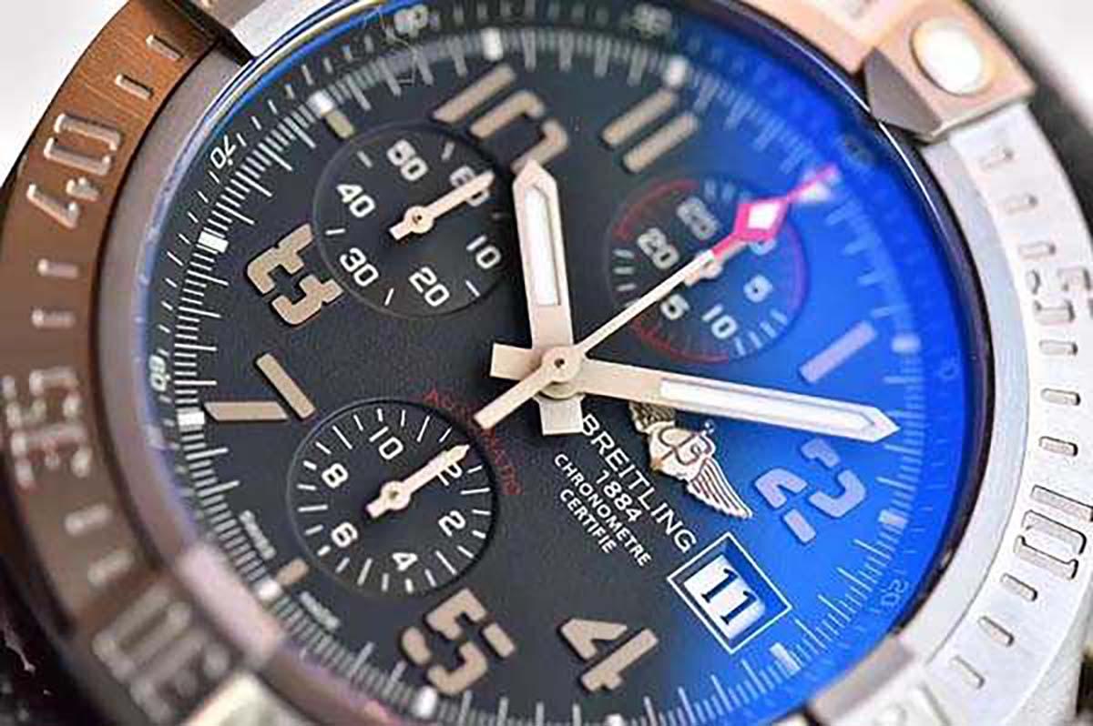 GF厂复刻版复仇者战机系列腕表做工细节评测-品鉴GF厂复刻