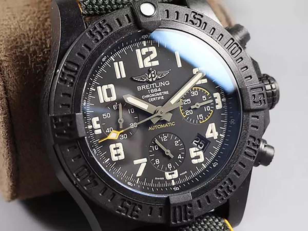 GF厂复刻版复仇者飓风计时系列腕表做工细节评测「45毫米大尺寸腕表推荐」