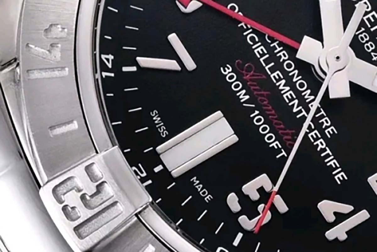 GF厂复刻版复仇者二代GMT黑盘腕表做工细节如何-品鉴GF厂腕表