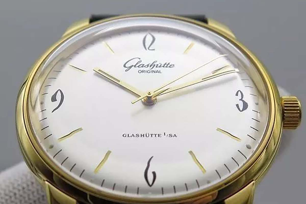 GF厂复刻版格拉苏蒂原创六十年代系列复古款式腕表推荐-品鉴GF厂腕表