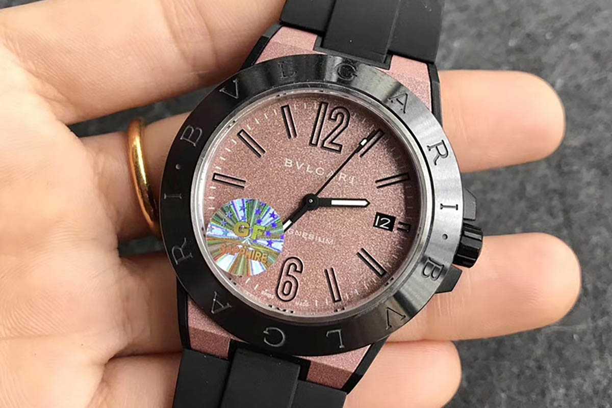 GF厂宝格丽MAGNESIUM系列粉色字面复刻腕表做工细节评测-都市风潮美感的腕表款式推荐
