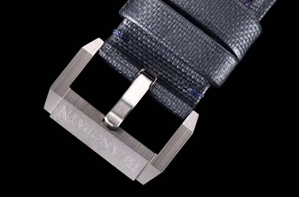 Gf厂复刻版宝珀五十寻陶瓷材质蓝盘腕表评测-外观细节如何
